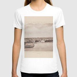 Port de St. Jean de Luz Les Travaux Publics de la France T-shirt