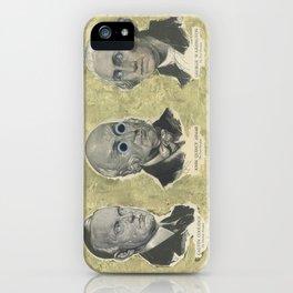 CAW (Coolidge, Adams, Washington) iPhone Case