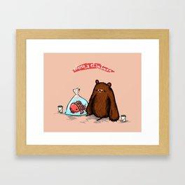 Strange Love Framed Art Print