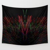 3d Wall Tapestries featuring 3D by Nasayousef