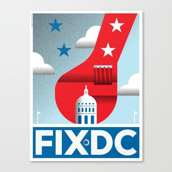FIX DC Canvas Print