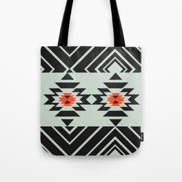Geometric pair Tote Bag