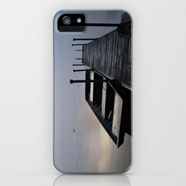 Misty Adirondack Dawn: A Duck's Paradise iPhone Case