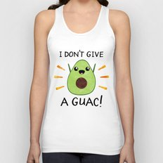 I don't give a guac! Unisex Tank Top