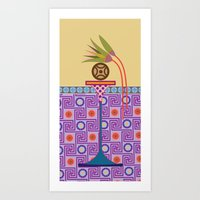 bread Art Prints featuring Ancient Bread #1 by Paco Dozier