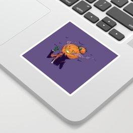 The Pumpkin Bun Sticker