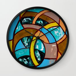 Composition #8 by Michael Moffa Wall Clock