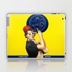 Whovian feminism Laptop & iPad Skin