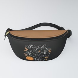 Pumpkin Spice is My Vice Dark Fanny Pack