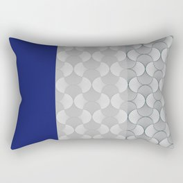 Lace Shapes 01 Geometric Minimalist Graphic Rectangular Pillow