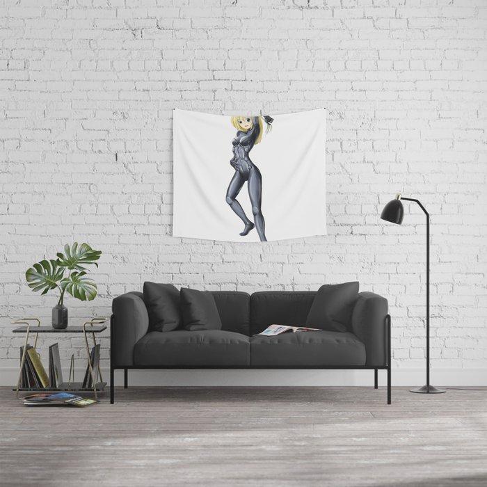 Gunnm (Battle Angel Alita) Cosplay Pinup Wall Tapestry
