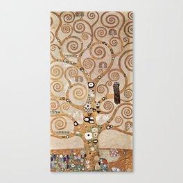 Gustav Klimt - Lebensbaum Canvas Print