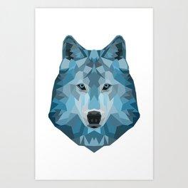 """Ice Wolf"" Art Print"