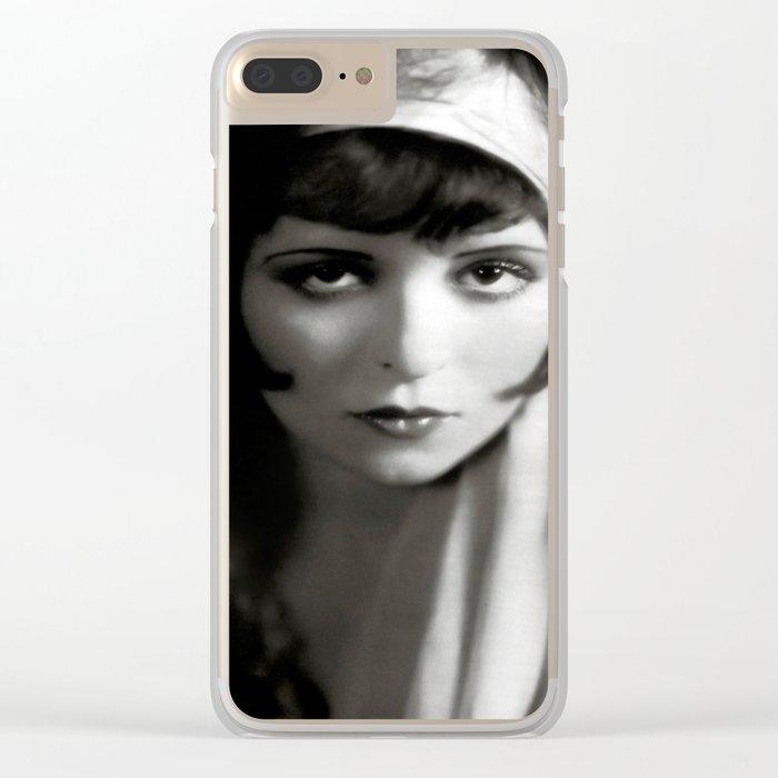Clara Hair Clear iPhone Case