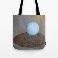 golf Tote Bags featuring Golf by LoRo  Art & Pictures