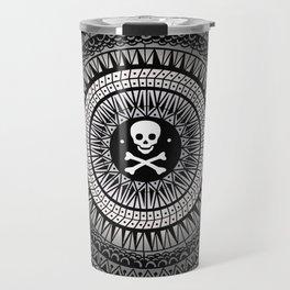 Space Skull & Bones Travel Mug