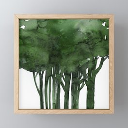 Tree Impressions No.1C by Kathy Morton Stanion Framed Mini Art Print
