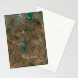 Patina Copper Stationery Cards