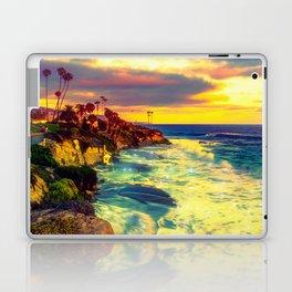 Glowing sea Laptop & iPad Skin