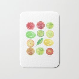 Fresh Citrus Fruit Bath Mat