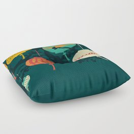 Lanterns Floor Pillow