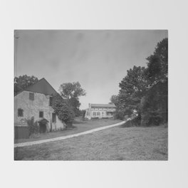 Mill Tract Farm, PA 1958 Throw Blanket
