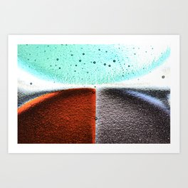 Platter1 Art Print