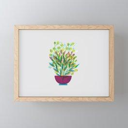 Flower pot I Framed Mini Art Print
