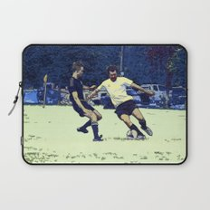 The Challenge - Soccer Players Laptop Sleeve