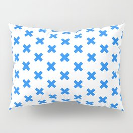 CROSS ((true blue)) Pillow Sham