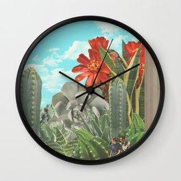Cactus World Wall Clock