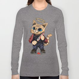 He's just a poor boy, he needs no sympathy Long Sleeve T-shirt