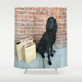 Puppy LOUBe Shower Curtain