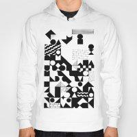 grid Hoodies featuring GRID by Matt Scobey