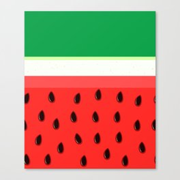 Watermelon Canvas Print