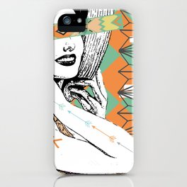 Who Am I? iPhone Case