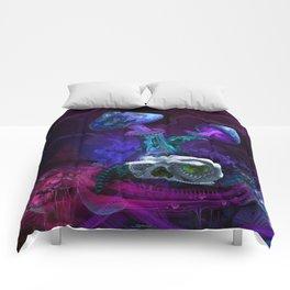 Between Dimensions Comforters