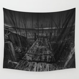 On the wrong side of the lake 13 Wall Tapestry
