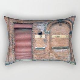 Closed Doors - Leeds Rectangular Pillow