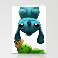stitch Stationery Cards featuring Stitch  by KimiSukini