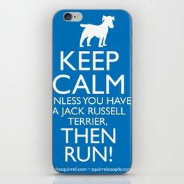keep calm... unless... iPhone Skin