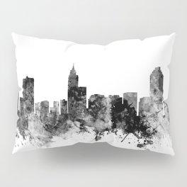Raleigh North Carolina Skyline Pillow Sham