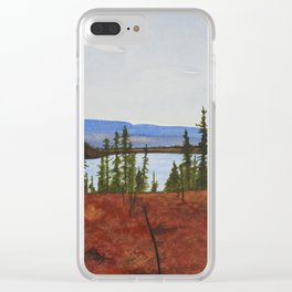 Over Yonder Clear iPhone Case