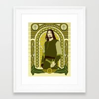 aragorn Framed Art Prints featuring Aragorn by Angelo Rabbit