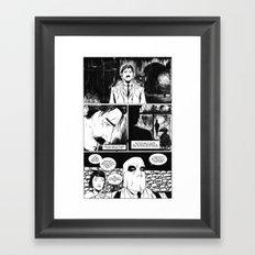 CARVER: A Paris Story- Issue 1 Framed Art Print