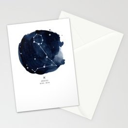 Zodiac Star Constellation - Pisces Stationery Cards
