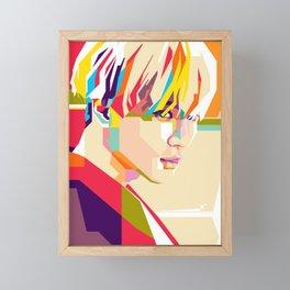 Taemin OffSick-OnTrack Framed Mini Art Print