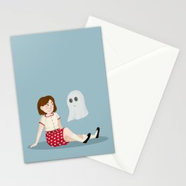 The Girl and the Ghost Stationery Cards