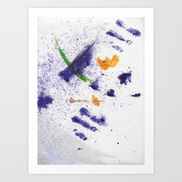 Watercolor Mania Art Print