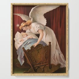 The Angel's Whisper, 1894 Serving Tray
